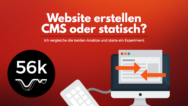 CMS oder Static site builder?