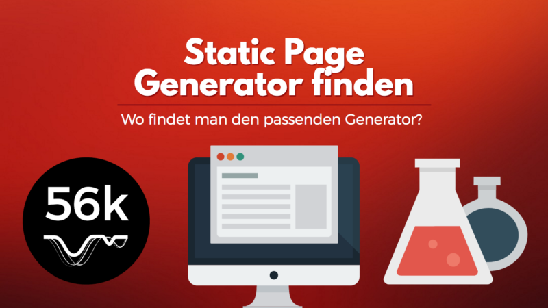 Tutorial - Static Site Generator finden